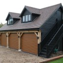 A timber garage could improve your home, garden and your mood