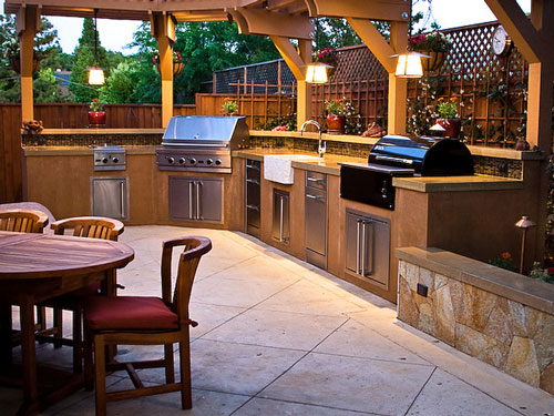 4 Steps to Create Your Summer Kitchen