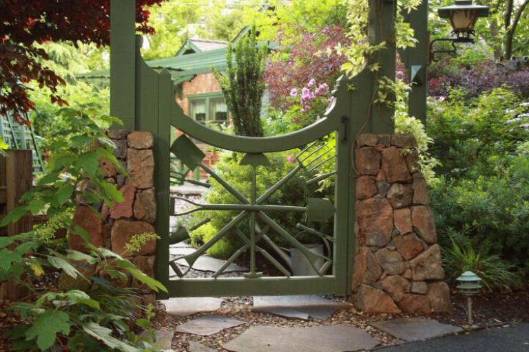 Start From Scratch and Get Creative By Building Your Own Garden Gate